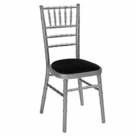 Silver Camelot chair